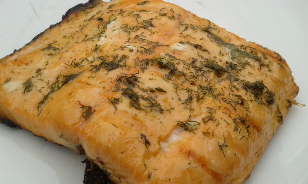 lachs-dill-grill